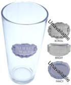 Engraved Gift : 20.5 oz. Pub Beer Glass