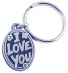 Engraved Gift : I Love You Key Chain